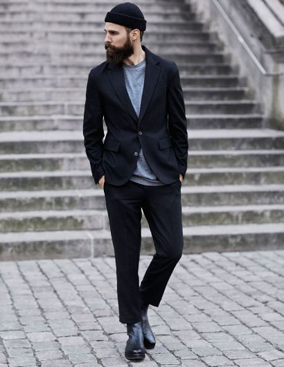 Picture of Street Fashion Men Coat