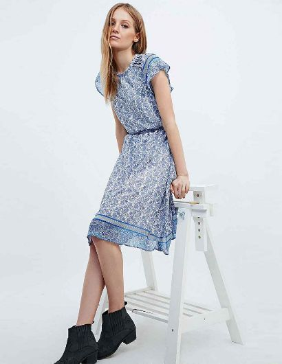 Picture of Vintage Women Dress